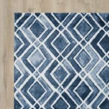 navy blue and white area rugs. perfect rugs found it at allmodern  lamoure nova navy bluewhite area rug with blue and white rugs