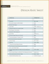Rate Sheet Template Rate Sheet Template Authorization Letter Pdf 7