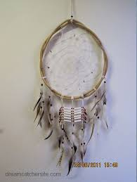 Bamboo Dream Catcher Dreamcatcher with bamboo ring feathers and bead detail native american 19