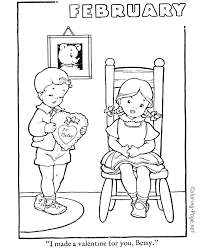 Small Picture Fresh February Coloring Pages 13 For Your Coloring Print with