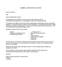 Samples Of Appointment Letter For An Employee Sample Offer Letter Employment Examples New Employee Appointment