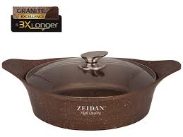 <b>Кастрюля жаровня Zeidan</b> 7L 32cm - Чижик