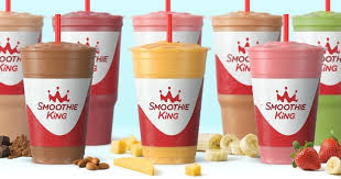 Smoothie King Nutrition Chart Smoothie King Blends Smoothie King