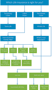Life Insurance Claims Process Flow Chart Insurance Needs Flowchart Real Life Advice