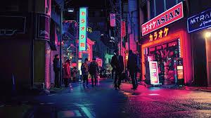 Neon Japan [3840x2160] : wallpapers