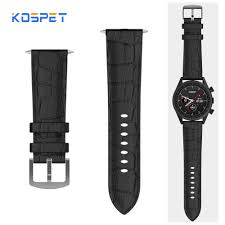 <b>Kospet</b> Hope Leather <b>Watch Band</b> Durable Replacement Strap ...