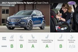 hyundai santa fe sport car seat check