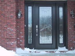 image of exterior front doors glass