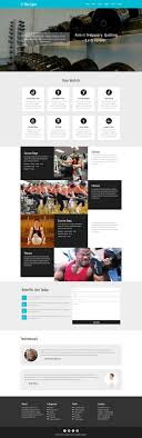 gym website design flat gym a sports category flat bootstrap responsive web template