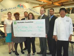 eva s village receives funding from td charitable foundation to support its new culinary program