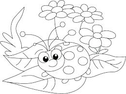 Lady Bug Coloring Sheet Cute Ladybug Coloring Pages Sebastianvargas Co