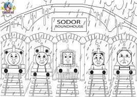 Thomas And Friends To Color For Kids Thomas And Friends Kids