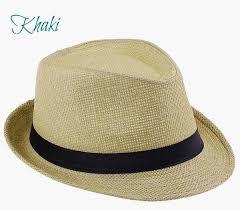 Women\u0027s Fedora Hat_khaki Hat - The Chic Find
