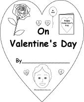 valentine s day worksheets for kindergarten