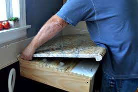 diy granite kitchen countertop install granite countertop installation instructions