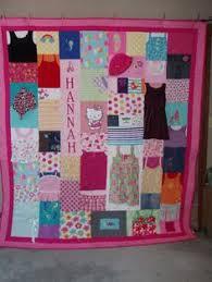 Quilt Keepsake.com Baby Clothes Quilt Recycled Baby Clothes | Baby ... & CUSTOM ORDER for Emily. CUSTOM ORDERS Full size Quilt made from baby clothes  ... Adamdwight.com
