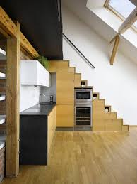 Small Attic Loft Apartment In Prague IDesignArch Interior - Decorating loft apartments