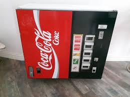 Vending Machines Soda Impressive Coca Cola Soda Vending Machine Catawiki
