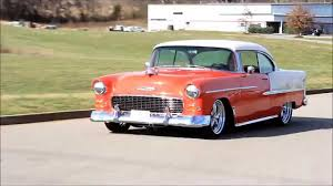 1955 Chevy Bel Air Hard Top Gypsy Red | Ground Pounders ...