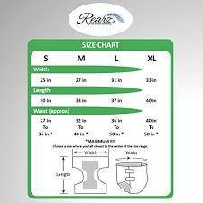 Abena Abri Form Size Chart Rearz Safari Adult Diaper Case Of 36 Medium