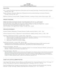 Resume Format For Graduate School Resume Template Sample