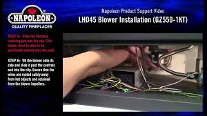 napoleon lhd45 optional blower installation tutorial napoleon lhd45 optional blower installation tutorial