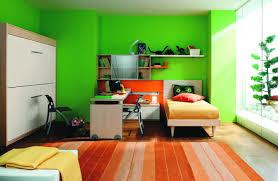 Modern Green Kids Bedroom With Orange Carpet Design Ideas for Boys Room  Bedroom Boy room Kid's ...