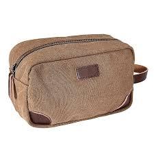 mens black brown toiletry bag travel wash shower bag organizer kit cosmetic bag coffe