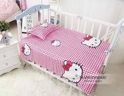 3pcs set new design baby bedding set crib cotton bedding set indian panda pattern for baby
