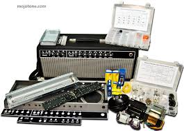 mojotone kits for amplifiers and guitars