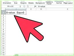 solving equations in excel solve function excel solving equations in excel image titled solve a quadratic solving equations in excel solve