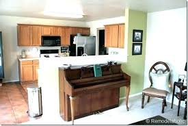decoration kitchen half wall ideas encourage designs wonderful intended for 5 from bar interiors design 254 design