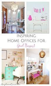 fabulous home office interior. inspiring home offices for girl bosses fabulous office interior