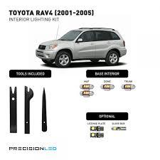 Toyota RAV4 Premium LED Interior Lighting Package 2005, 2004, 2003 ...