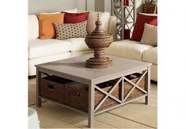 square coffee table with storage ideas