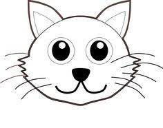 Small Picture Cat Face Coloring Page Cats Storytime Pinterest Cat face