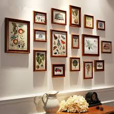 photo collage set 16 pcsset wooden photo frame familyvintage picture frames sets template