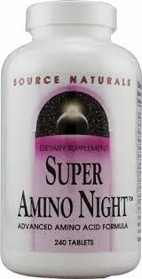 Source Naturals Super Amino Night™, 240 Tablets - Mariano's
