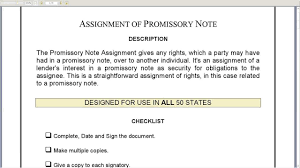 Sample Promissory Note Assignment Of Promissory Note YouTube 23