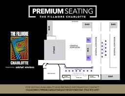 Fillmore Seating Chart Fillmore Charlotte