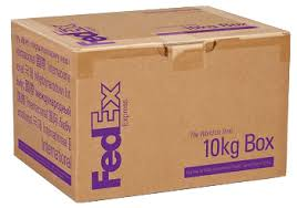 10kg Box Delivery Fedex Indonesia