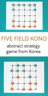 five field kona is an abstract strategy game you can make at home easy to
