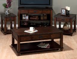 jofran 561 4 plank top sofa table w drawer 2 shelves dark brown nailheads