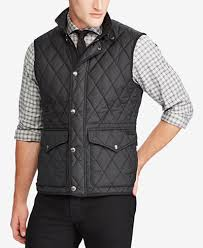 Polo Ralph Lauren Men's Big & Tall Iconic Quilted Vest - Coats ... & Polo Ralph Lauren Men's Big & Tall Iconic Quilted Vest Adamdwight.com