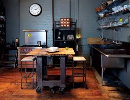 Slow Design Industrial Strength Kitchen Loft Kitchen