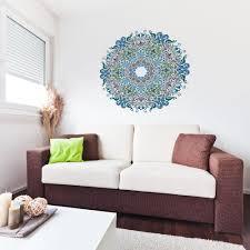 floral mandala wall art on mandala wall art uk with floral victorian mandala vinyl wall art sticker vinyl revolution