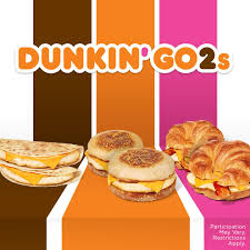 dunkin donuts go 2 song drive thru lunch