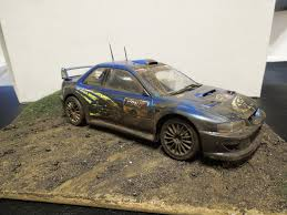 Subaru Impreza WRC '99 Diorama - Tamiya [1:24] by DoreDesigns on ...