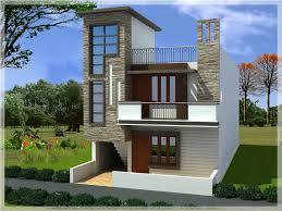 Small Duplex House Elevation Plans