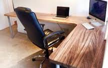 office work surfaces. Office Work Surfaces. Full Stave Zebrano With Radius Corners Makes A Simply Stunning Desk Space Surfaces